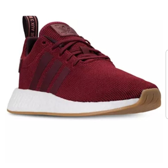 new arrival 12fb7 aacd5 New red gum bottom Addidas Nmd r2